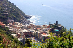 Cinque Terre in Italy. Here is a panorama of cinque terre in Italy Royalty Free Stock Images