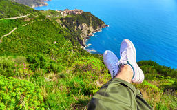 Cinque Terre Italy Coast Royalty Free Stock Images