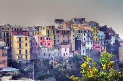 Cinque Terre, Italy - corniglia Stock Images