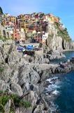 Cinque Terre, Italy - Manarola Royalty Free Stock Photography