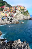 Cinque Terre, Italy - Manarola Stock Photography