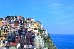 Cinque Terre, Italy - Manarola Stock Photo