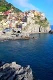 Cinque Terre, Italy - Manarola Royalty Free Stock Photo