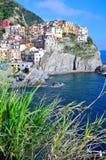 Cinque Terre, Italy - Manarola Stock Image