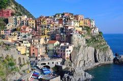 Cinque Terre, Italy - Manarola Royalty Free Stock Photos
