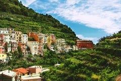 Cinque Terre, Italy. Manarola village in Cinque Terre, Italy Royalty Free Stock Images