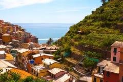 Cinque Terre, Italy. Manarola village in Cinque Terre, Italy Stock Photo