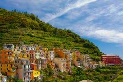 Cinque Terre, Italy. Manarola village in Cinque Terre, Italy Stock Images