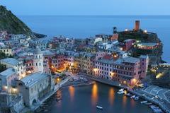 Cinque Terre, Italy. Resort village Vernazza, Cinque Terre, Italy royalty free stock photography