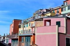 Cinque Terre, Italy - Riomaggiore Royalty Free Stock Photo