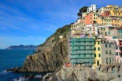 Cinque Terre, Italy - Riomaggiore Royalty Free Stock Images