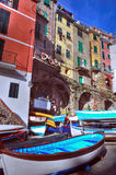 Cinque Terre, Italy - Riomaggiore Stock Photos