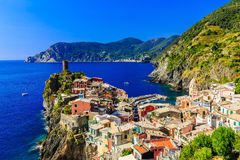 Cinque Terre, Italy Stock Images