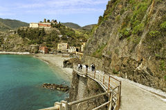 Cinque terre, Italy. Royalty Free Stock Photo