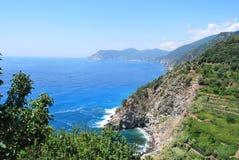 Cinque Terre - l'Italie Image libre de droits