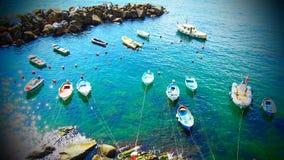 Cinque Terre - l'Italie Images libres de droits