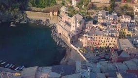 Cinque Terre in Liguria, Aerial drone shoot