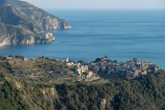 National Park of Cinque Terre, Italy royalty free stock photography