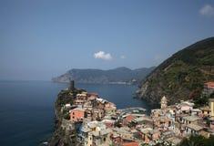 Cinque terre manarola της Ιταλίας στοκ φωτογραφία με δικαίωμα ελεύθερης χρήσης