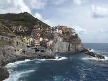 cinque terre manarola Włochy Obraz Stock
