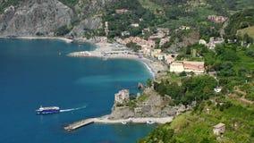 Cinque Terre Monterosso al Mare stock footage