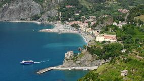 Cinque Terre Monterosso al Mare Stock Photo