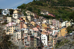 Cinque terre mountain Royalty Free Stock Image