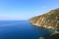 The Cinque Terre national park in Italy Stock Photos