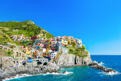 Cinque Terre national park, Liguria, Italy Royalty Free Stock Images