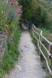 Cinque Terre odprowadzenia sławni ślada zdjęcie stock