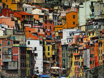 Cinque Terre. One of the cities of Cinque Terre in Italy Royalty Free Stock Images
