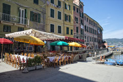 Cinque Terre Restaurant Stock Photography
