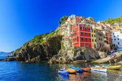 Cinque Terre, Riomaggiore. Italy Stock Photo