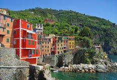 Cinque Terre Riomaggiore Royalty Free Stock Photos