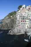 Cinque Terre Riomagiore lizenzfreies stockbild