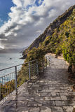 Cinque Terre - road of love Royalty Free Stock Photo