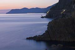 Cinque Terre Shoreline Royalty Free Stock Image