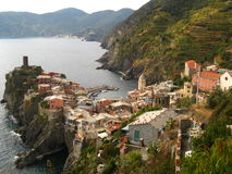 Cinque Terre- Vernazza Royalty-vrije Stock Foto's