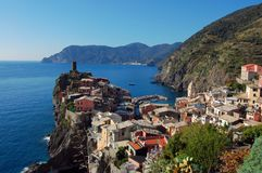 Cinque Terre - Vernazza Royalty Free Stock Photos