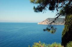Cinque-terre view Royalty Free Stock Photography