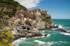 Cinque Terre Village Royalty Free Stock Photos