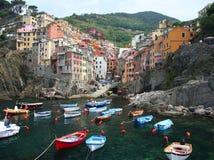cinque terre Włochy Zdjęcia Royalty Free