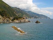 Cinque Terre Włochy 01 Fotografia Royalty Free
