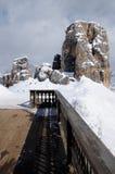 Cinque Torri, Cortina d`Ampezzo, Dolomites Italy. Stock Photos