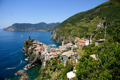 cinque vernazza της Ιταλίας terre στοκ εικόνες