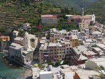 Cinque Vernazza Terre - Zdjęcie Stock