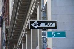 Cinquième Avenue Photographie stock libre de droits