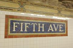 Cinquième Avenue photo stock