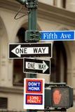 Cinquième Avenue Image stock