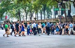 Cinquième avenue et quarante-deuxième St Photographie stock libre de droits